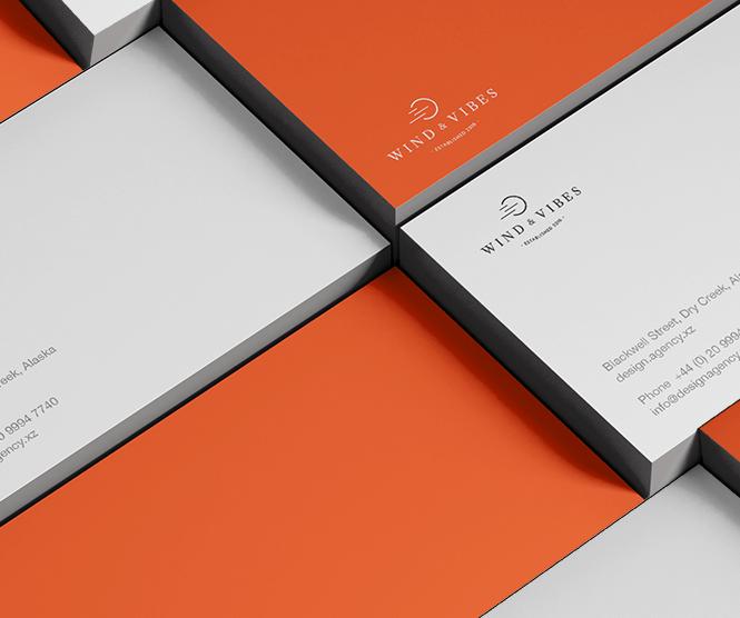 Wind & Vibes graphic design retainer