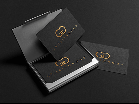 Gameitgroup business cards design