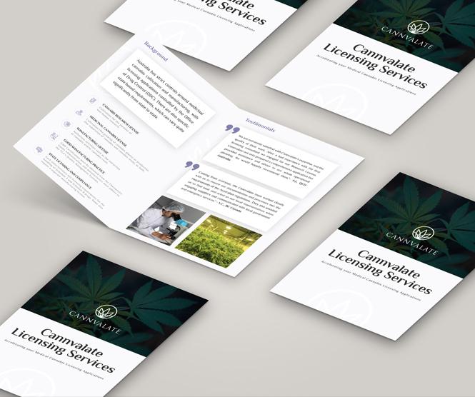 Brochure graphic design retainer