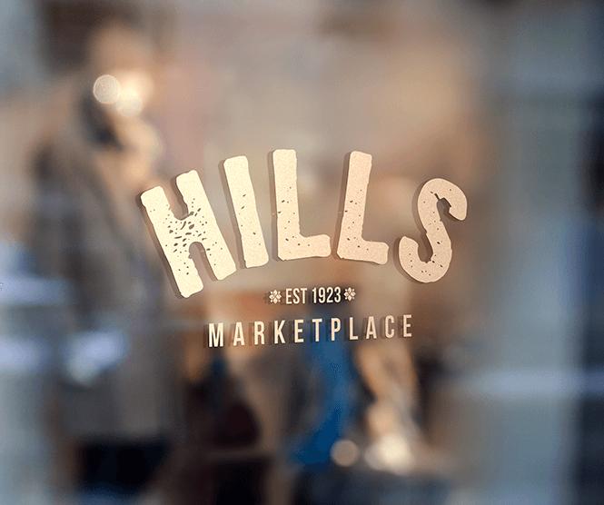 Hills Marketplace graphic design retainer